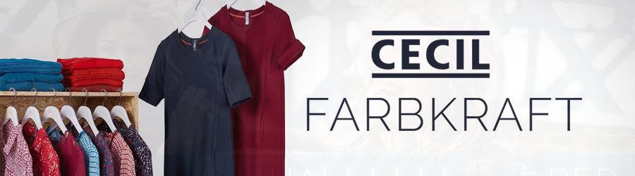 Starten Sie mit den neuen CECIL-Farben in den Herbst!