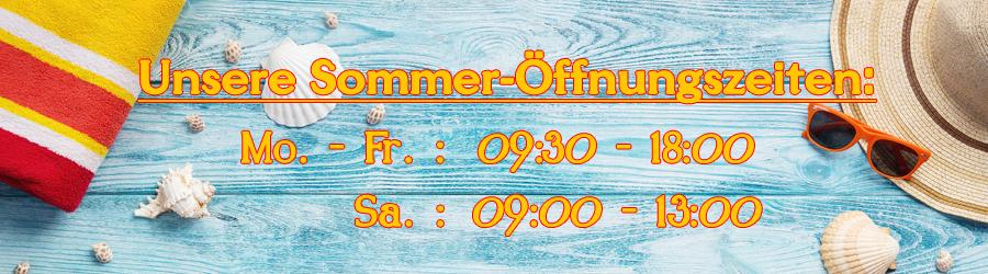 Unsere aktuellen Öffnungszeiten (gültig ab: 06.07.2020)